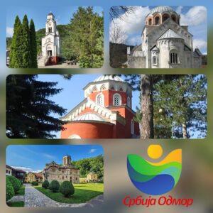 Manastiri u okolini Kraljeva